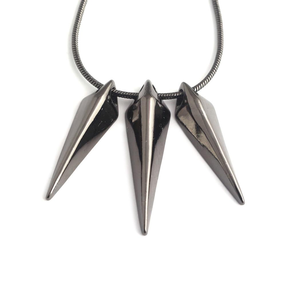 Los Vengadores 3 rey Wakanda TChalla Pantera Negra collar grabado garra cadena colgantes y collares para hombre mujeres Fans joyería