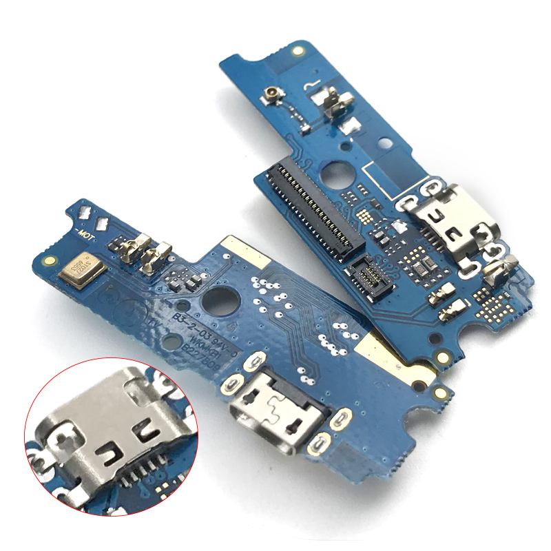 Pour asus ZenFone 4 Max X00KD Peg asus 4A ZB500TL Micro Dock Connecteur Conseil USB De Charge Port Flex Câble de Remplacement pièces