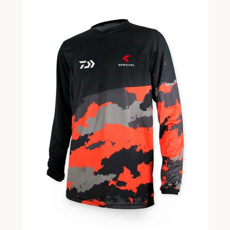 verão camisa de pesca tamanho XS-5XL transporte da gota