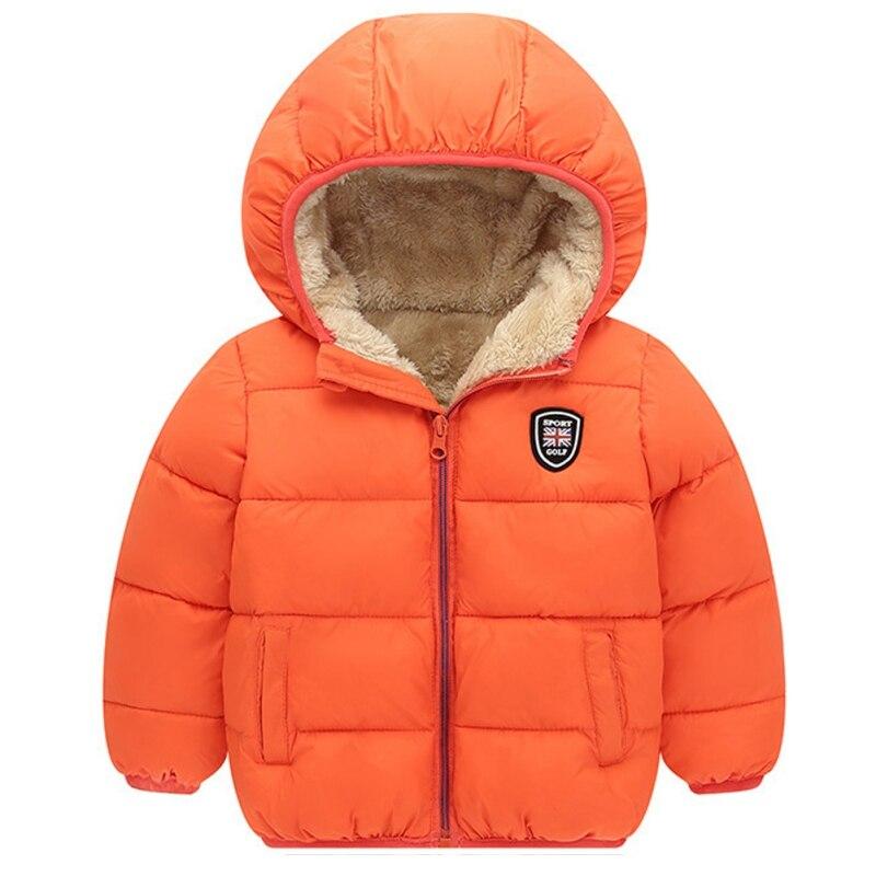 Дети Обувь для мальчиков Обувь для девочек куртка с капюшоном зимние теплые пальто Детская одежда карманы на молнии Зимняя верхняя одежда п...