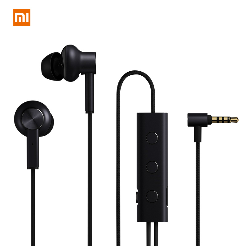 Original Xiaomi ANC Earphone Active Noise Cancelling Earphone 3 5mm jack Interface In Ear Mic Line