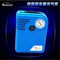 Car Inflatable Pump Air Pump Compressor Cigarette Lighter High Power Supply Tire Tool with Tire Pressure Gauge