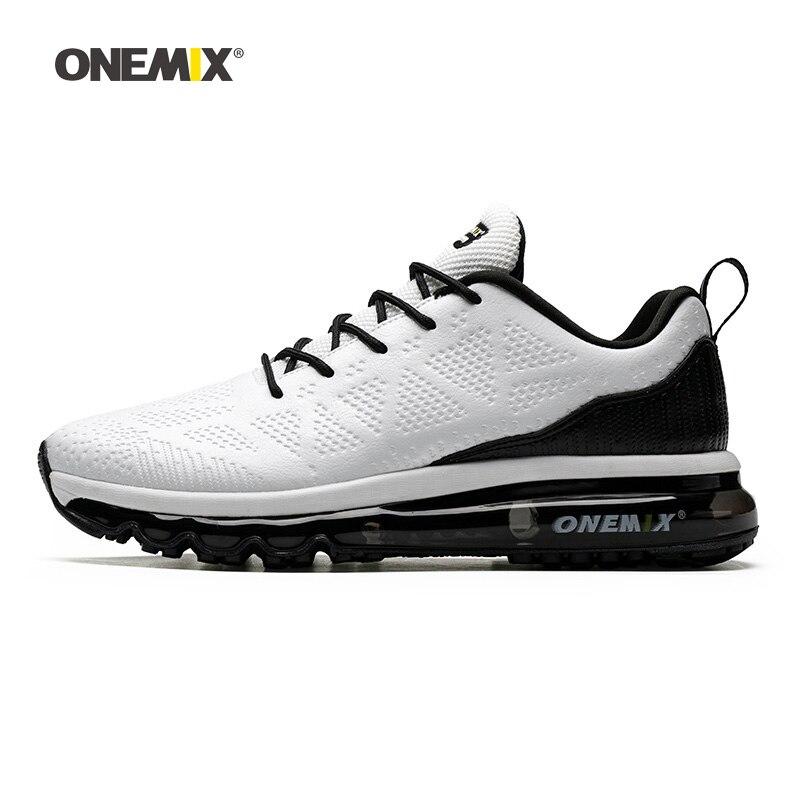 Max hommes chaussures de course maille tricot formateurs Designer Tennis sport baskets femmes hiver noir coussin extérieur marche chaussures bricolage