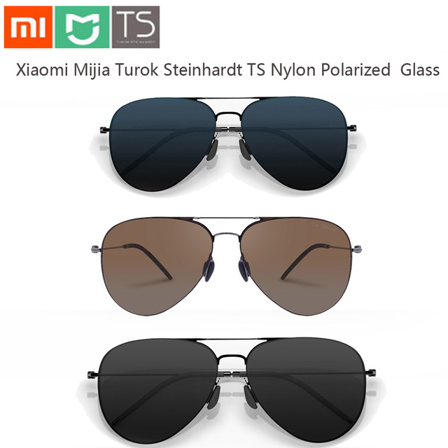 Xiaomi Mijia Turok Steinhardt TS Nylon Polarized Protector Glass Sun Lenses UV-Proof Fatigue Protect UV Glass Travel Woman Man