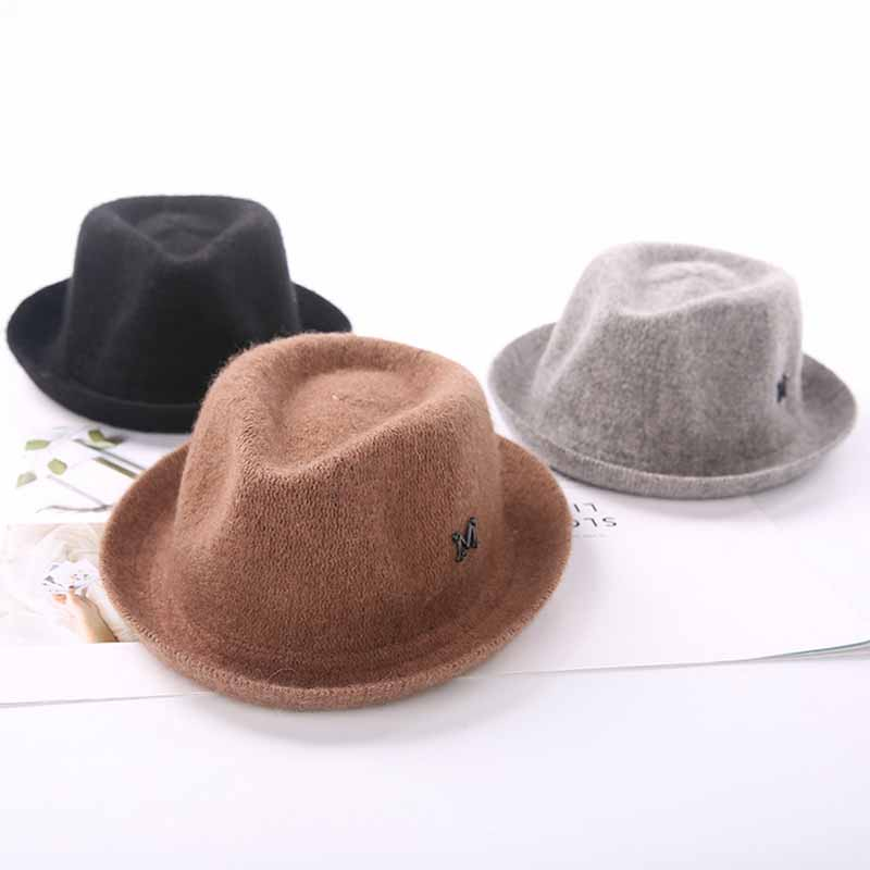 Men's Fedoras Childrens Wool Jazz Hat Autumn And Winter New Boy Girl Retro Baby England Gentleman M Logo Panama Hat Back To Search Resultsapparel Accessories