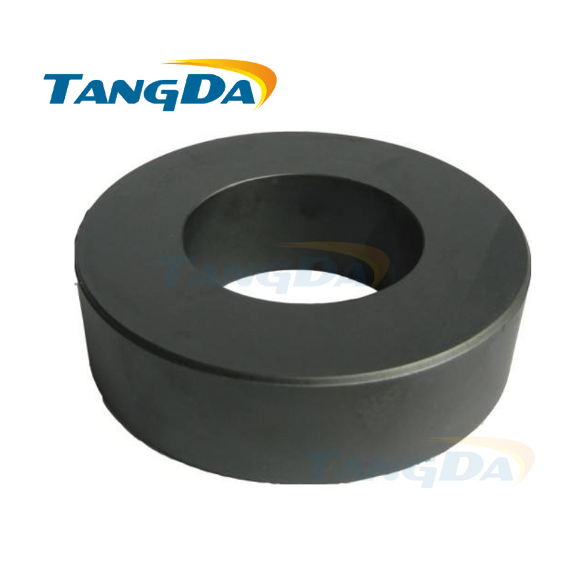 big ferrite core ring 124*60*40 mm PC40 material 124 60 40 magnetic coil inductance interference anti-interference filter tangda ferrite cores emi bead core 58 40 18 58 40 18 mm ring coil emi toroidal core anti interference filter t core type a