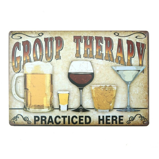 Vintage Beer Metal Plate Painting Wall Decor for Bar Pub Kitchen Home Poster Plate Metal Signs Painting Plaque 20*30cm