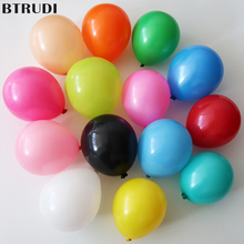 BTRUDI 50pcs/lot 5inch round latex balloon coloful Birthday Party Wedding  Engagement balloons