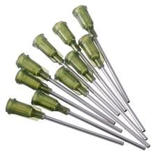 19b81c7a 10pcs New Dispensing Needles Syringe Tip Needle 1.5