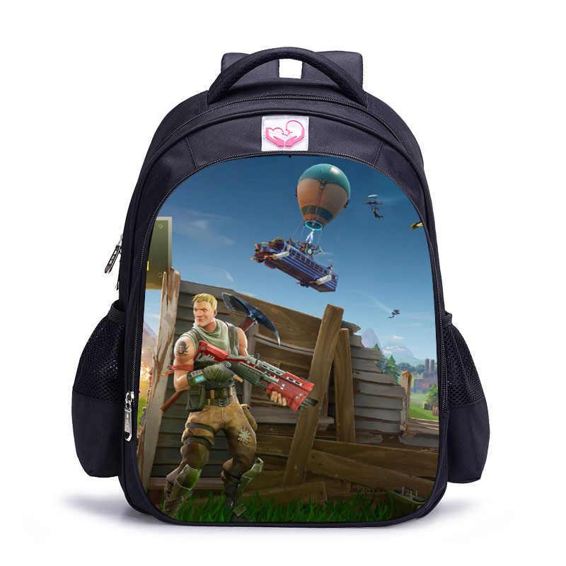LUOBIWANG игра битва ройяль детский школьный рюкзак с героями мультфильмов для подростков мальчиков и девочек Mochila Infantil