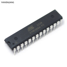 5pcs ATMEGA8A-PU ATMEGA8A DIP-28 8-bit with 8K Bytes In-System Programmable Flash ATMEGA8 DIP Original