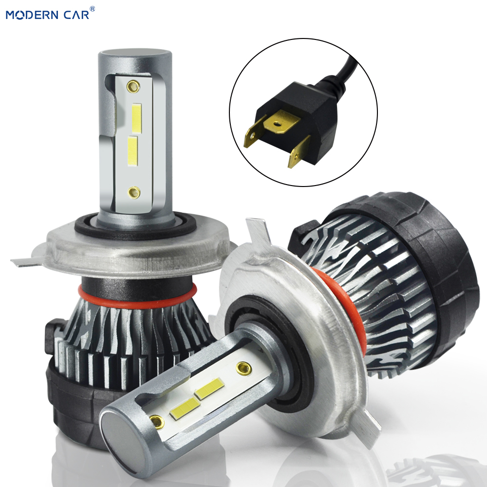 MODERN CAR <font><b>Can</b></font> <font><b>bus</b></font> lampada V2 3570 chip H1 H4 <font><b>LED</b></font> Car Headlight 24V 12000LM 6500K Lamp <font><b>H7</b></font> H11 9005 HB3 9006 HB4 light Bulb image
