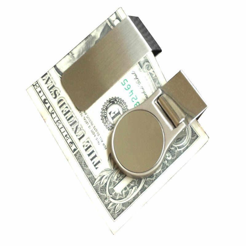 Мужской кошелек Тонкий кошелек зажим для денег кредитный кошельки в бизнес-стиле высокое качество зажим для денег Carteira Masculina portefeuille homme