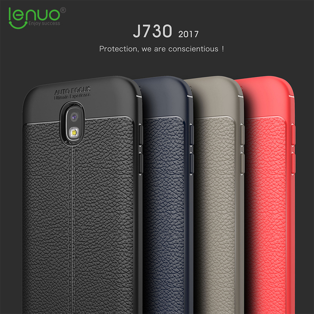 2874c1c78519a1 phone case for Samsung Galaxy J7 Pro 2017 Lenuo Anti-Burst silicone soft  cover for Samsung J7 2017 J730 Ultra thin TPU shell