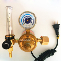 YQT 731L Carbon Dioxide Table Pressure Reducing Valve 36V 220V Mixed Gas Pressure Reducer Electric Heating