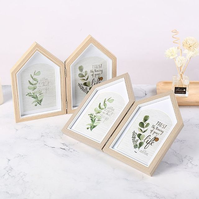 Nordic Style Double Sided Photo Frame