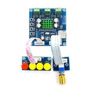 Image 3 - DC 12 V 24 V Bluetooth デジタルアンプボード 15 ワット + 15 ワットステレオ 2.0 オーディオアンプとトーンボード TF カードプレイ