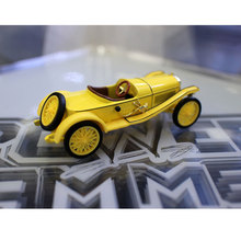 1:43 Model Simulation Alloy Classic Car Toys For Children Miniature Banana Color Transportations Vehicle For Car Hobby Collector 1 43 ixo diecast model car brazilian classic fiat uno 1983 miniature vehicle