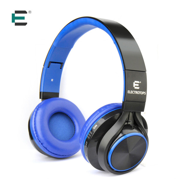 ET Wireless Headphones Stereo Sound Auriculares Bluetooth Headset BT 4.2 with 3.5mm Cable for iPhone ipad Samsung Xiaomi Tablet