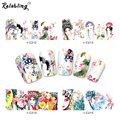 Rolabling Chinese Traditional Classic Opera Lady nail art stickers for full cover nail sticker on nail decoration sticker