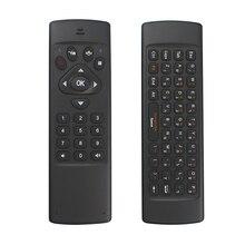 2017 2,4G мини беспроводная клавиатура Fly Air mouse пульт дистанционного управления Ручной ИК обучения для ТВ-приставка на базе Android Smart tv HTPC IPT