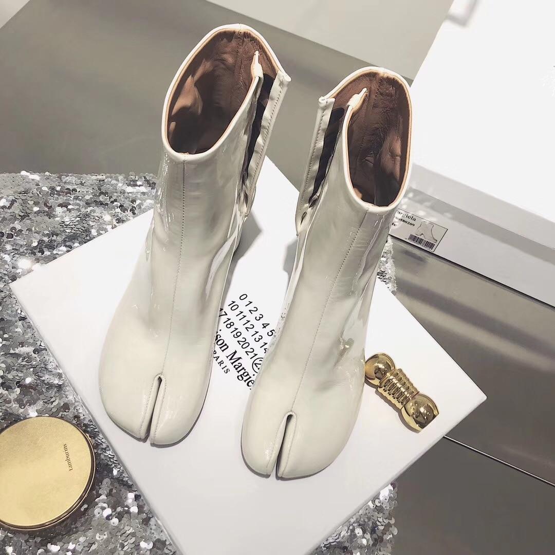 2 Véritable Femmes Automne Mode Chaussures À Zipper F18 Ol Cuir 3 4 De En Talons Cheville Orteil Style Européenne 5 Bottes 1 Hauts Fendu 6RrSYrdwq