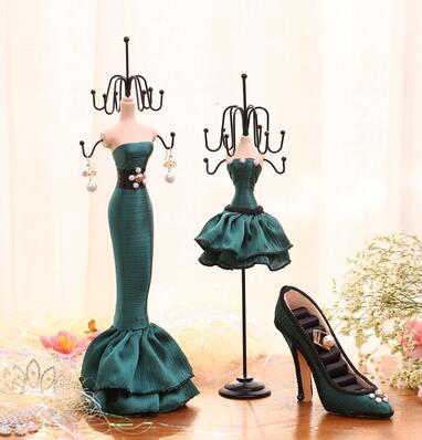 Cadre bijoux, affiche les modèles de princesse rack pour accrocher le collier boucles d'oreilles cadeau de mariage
