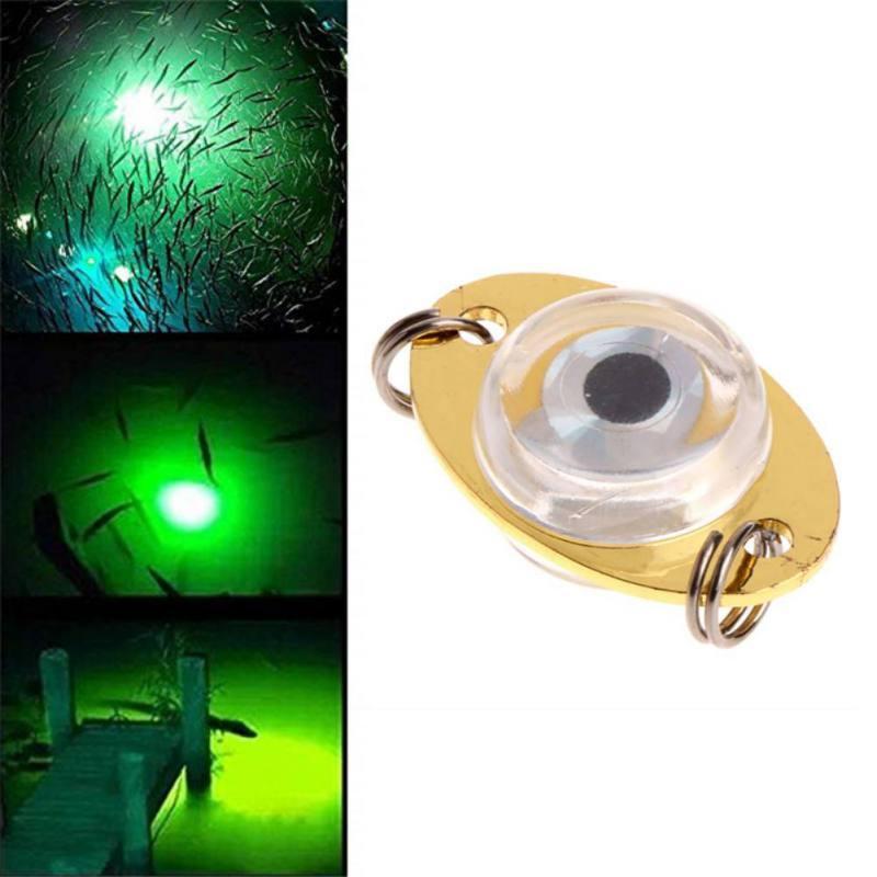 High Quality 1pcs Underwater Tool Fish LED Flashing 1 Eye Lure Light Pcs Fishing For Newest Drop Deep Lamp