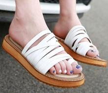 Slippers Summer New Women Sandals  Female Slope With Thick Crust Muffin Beach Thong Sandals Fashion Large Size Shoes