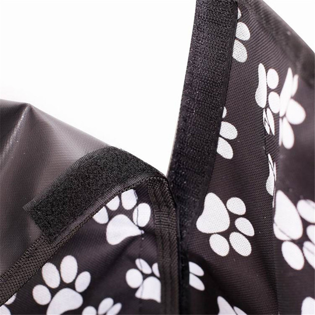 Pet carriers Oxford Fabric Paw pattern Car Pet Seat Cover Dog Car Back Seat Carrier Waterproof Pet Mat Hammock Cushion Protector 4