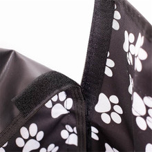 Oxford Paw Patterned Seat Cover for Pets