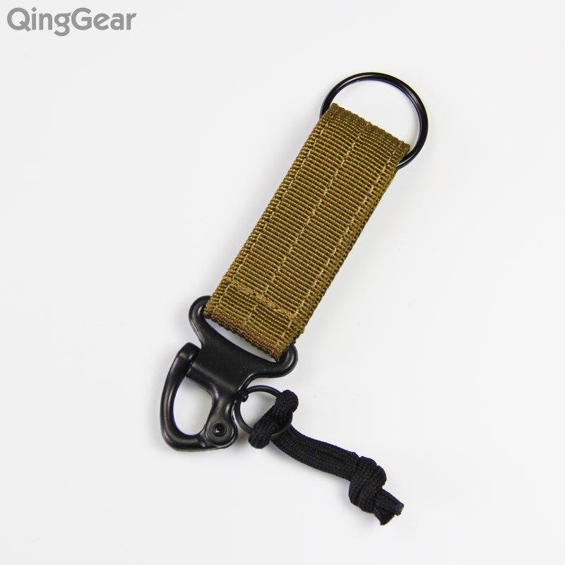 Molle Hanger nylon heveder hátizsák Hook carabiner kemping utazás - Kemping és túrázás