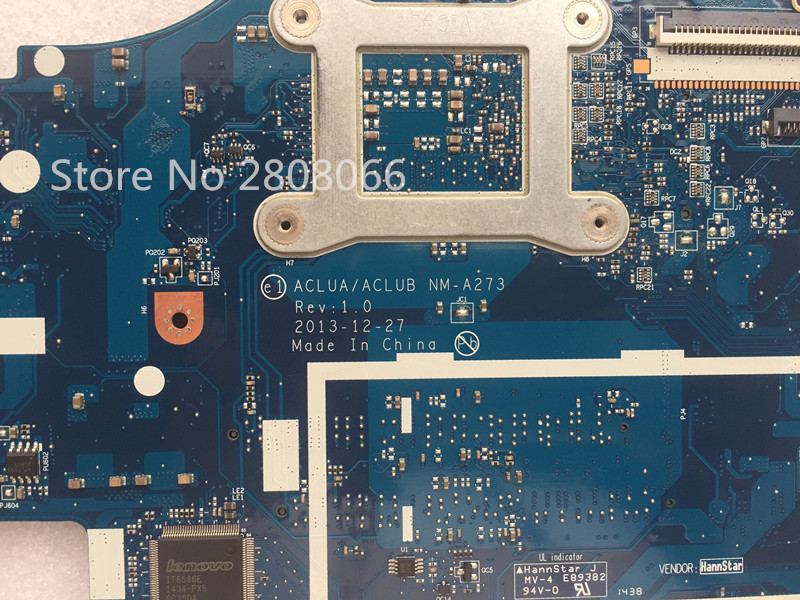 KEFU G50-70M Lenovo G50-70 Z50-70 i5 anakart ACLUA / ACLUB NM-A273 - Kompüter hissələri - Fotoqrafiya 5