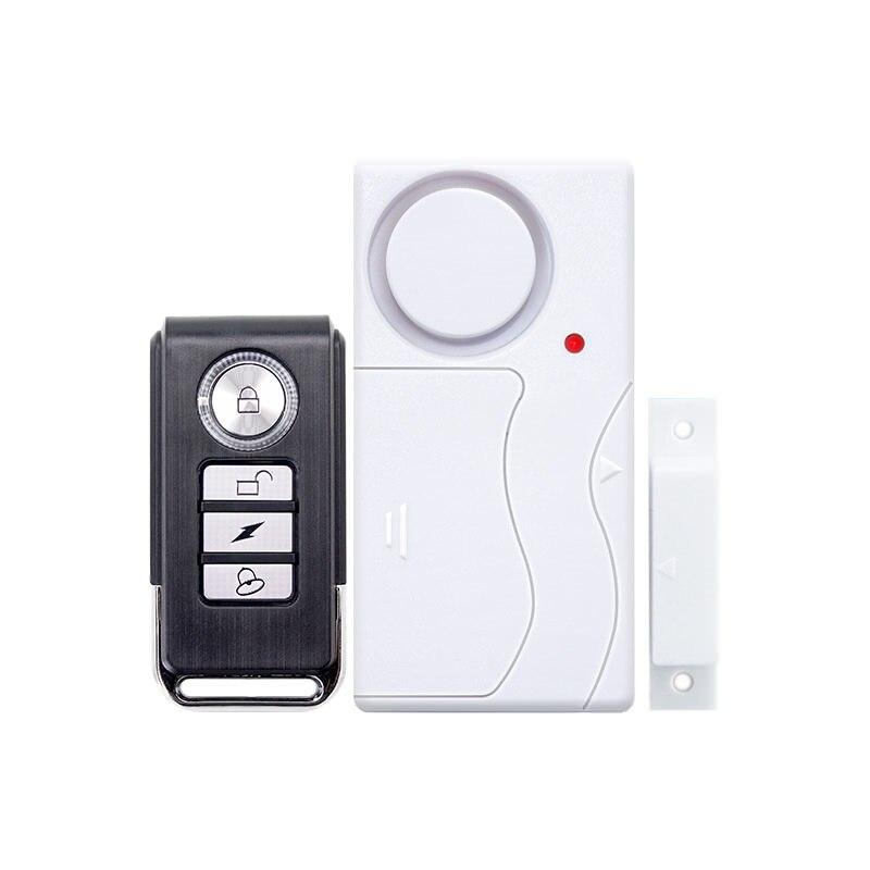 Saful Sans Fil Accueil Porte Fenêtre Cambrioleur DIY Système De Sécurité D'alarme de sécurité Magnétique Capteur système d'alarme De la Télécommande