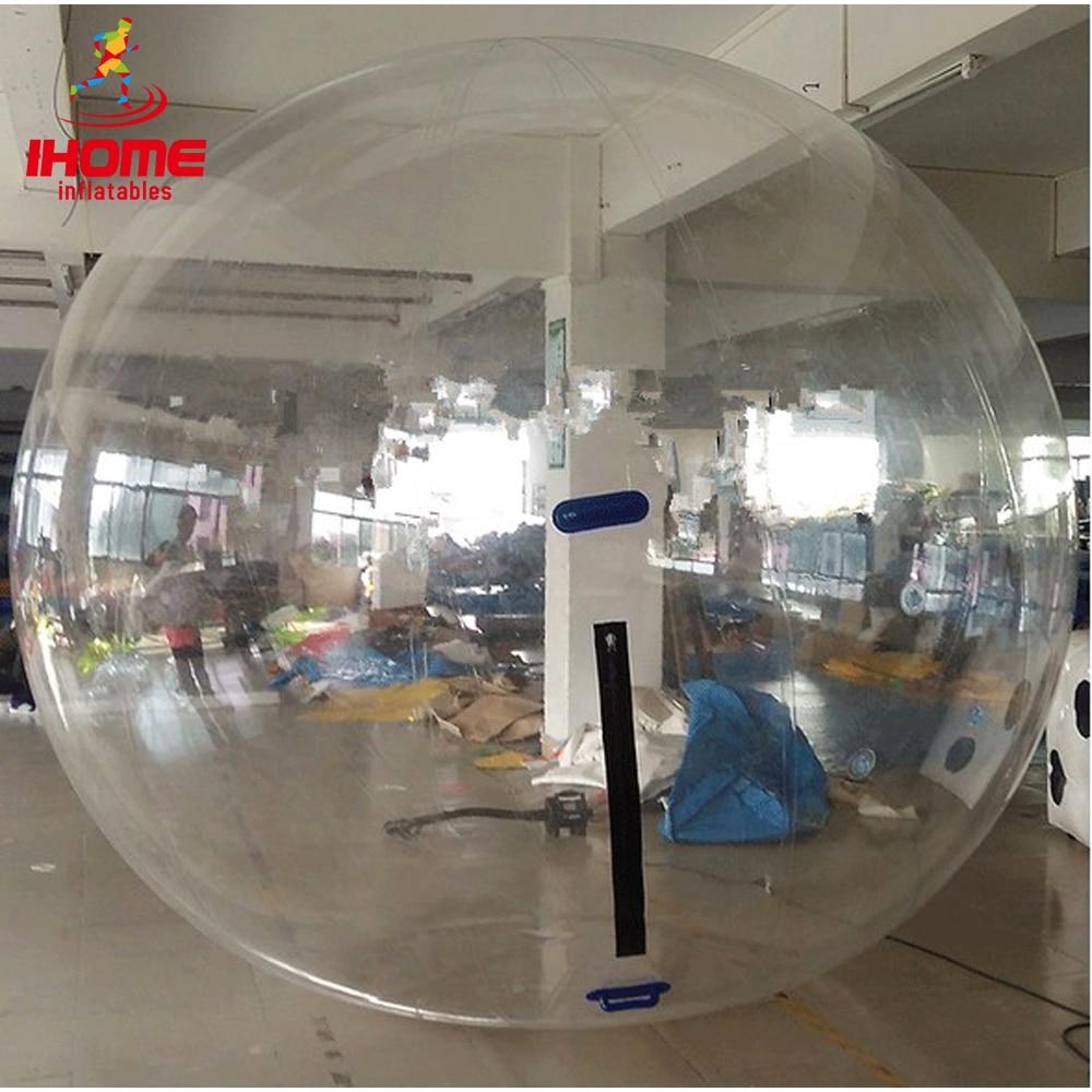 JIAINF 2 m air berjalan bola bola air tiup bola dansa tiup dengan bahan TPU berkualitas tinggi