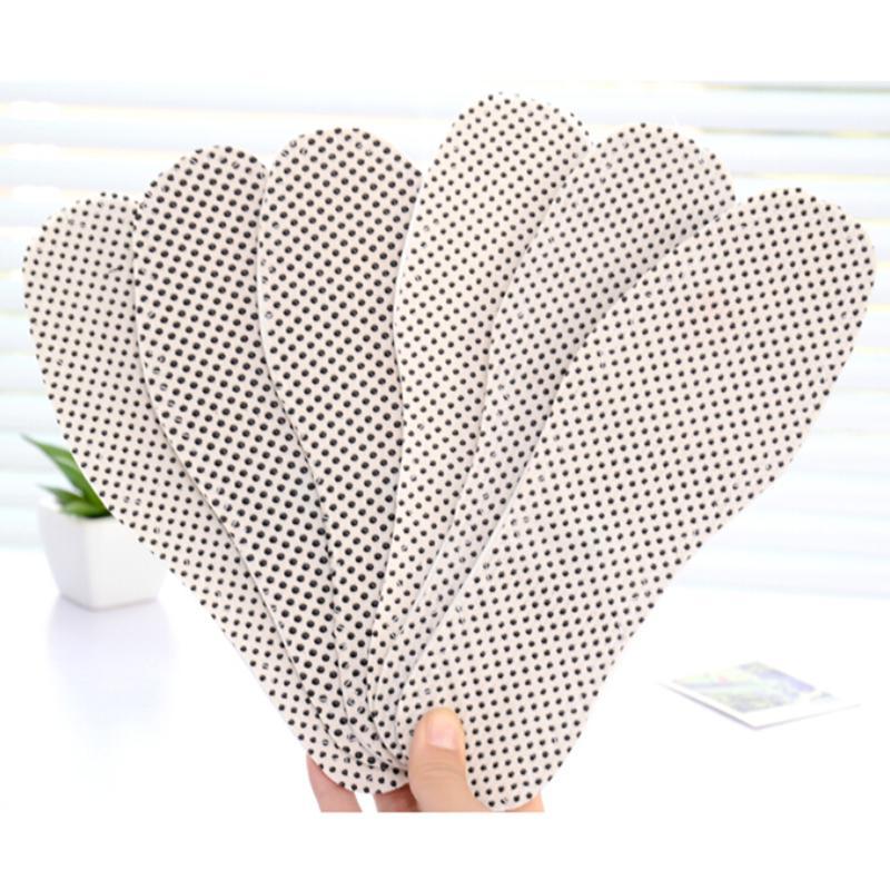 1 Paar Vrouwen Mannen Comfortabele Warme Nano Toermalijn Magnetische Zelf Verwarming Binnenzool Voet Inlegzolen Warme Pasta Pads Bloedcirculatie Activeren En Pezen En Botten Versterken
