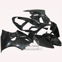 Injection Motorcycle road fairings for Kawasaki zx6r Ninja zx 6r 2000 2001 2002 00 01 02 all black xl130