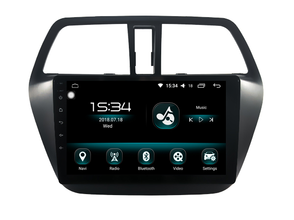 For Suzuki SX4 S CROSS 2014 autoradio Android 8 0 font b car b font gps