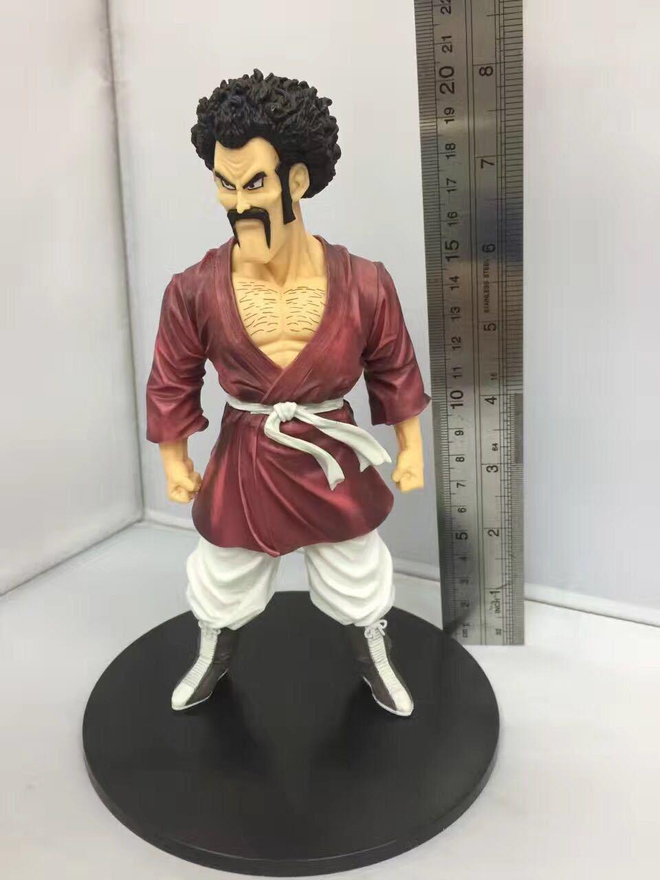 20cm Dragon Ball Z Action Figure Hercule Mark Satan PVC Figurine Hero Collectible Model toys good gift toy good homelessness 20cm