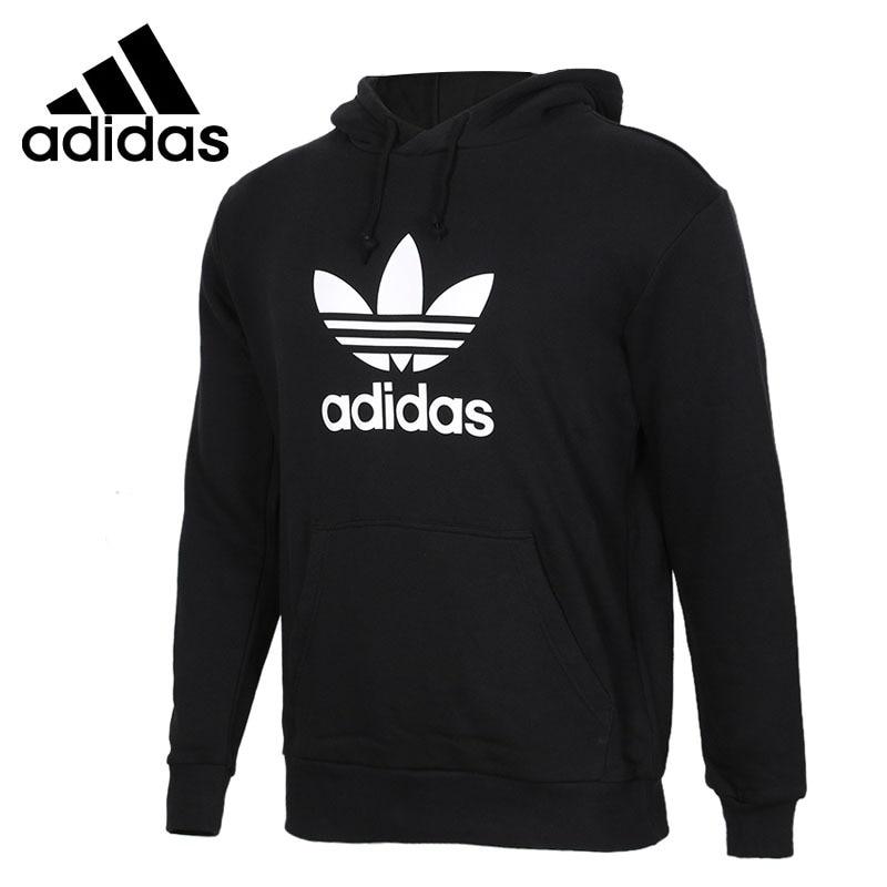 Original New Arrival 2018 Adidas Originals TREFOIL HOODIE Men's Pullover Hoodies Sportswear original new arrival 2018 converse essentials pullover hoodie men s pullover hoodies sportswear