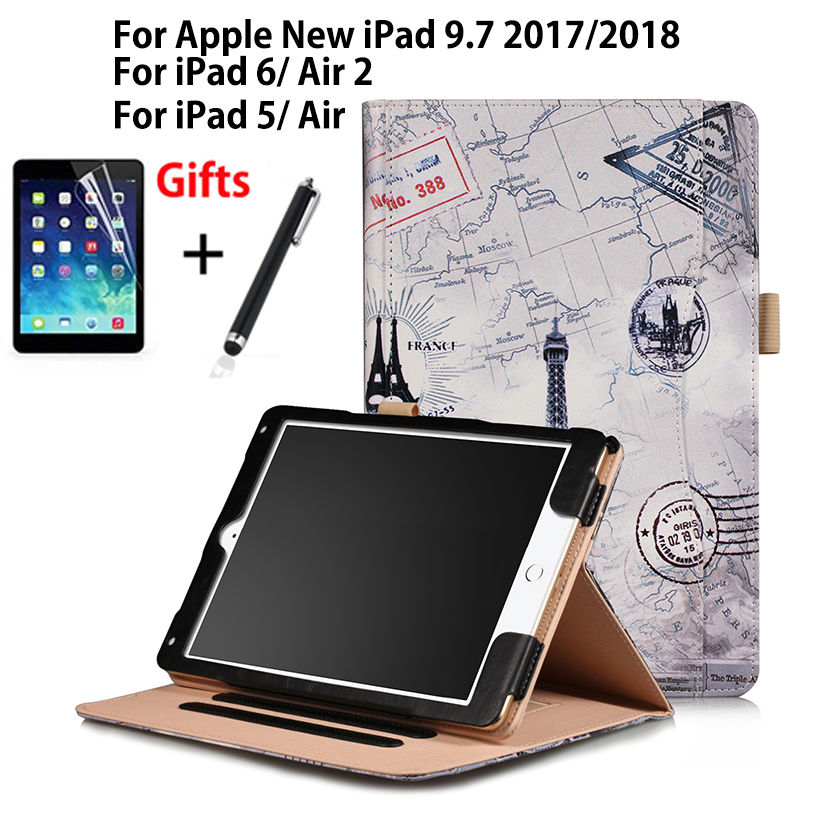 PU Leather Case For Apple New iPad 9.7