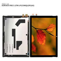 For Microsoft surface pro5 pro 5 Model 1796 LP123WQ1(SP)(A2) LCD Display touch screen digitizer Assembly Free Tools