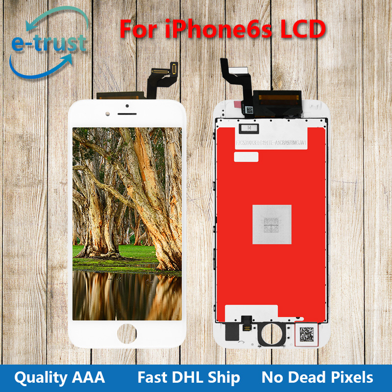 Grade AAA+ Quality For iphone6S LCD display Touch Screen Digitizer Assembly  Lcd Replacement No Dead Pixel with Black and White calmini ss6003 suzuki samurai3 body lift