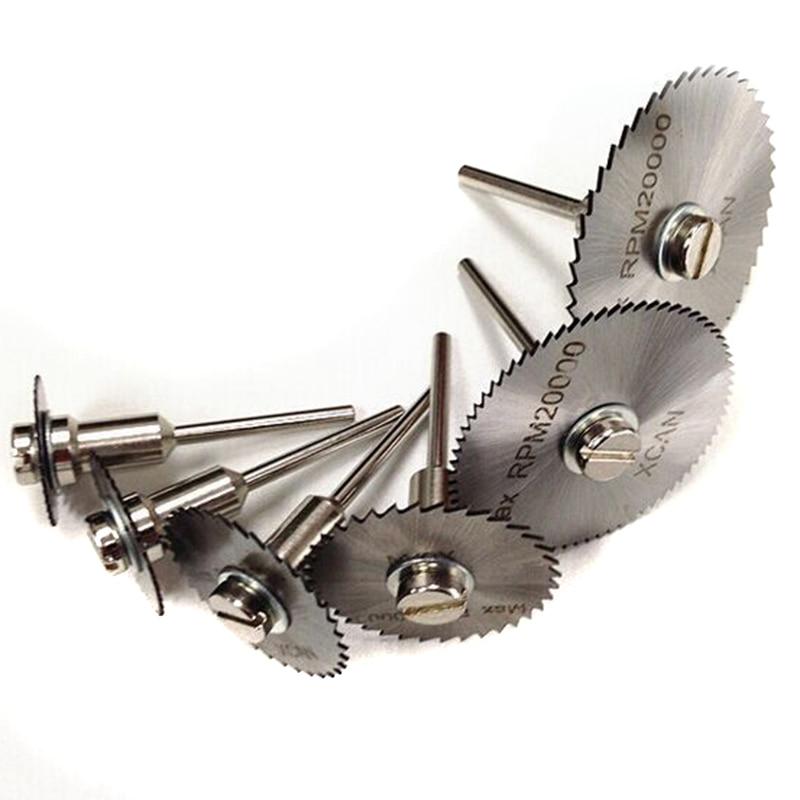 HSS Circular Saw Blades Wood Cutting Discs Rotary Blades Tool Mandrel Set 22mm/25mm/35mm/55mm LB88