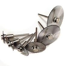 HSS Circular Saw Blades Wood Cutting Discs Rotary Tool Mandrel Set 22mm/25mm/35mm/55mm LB88