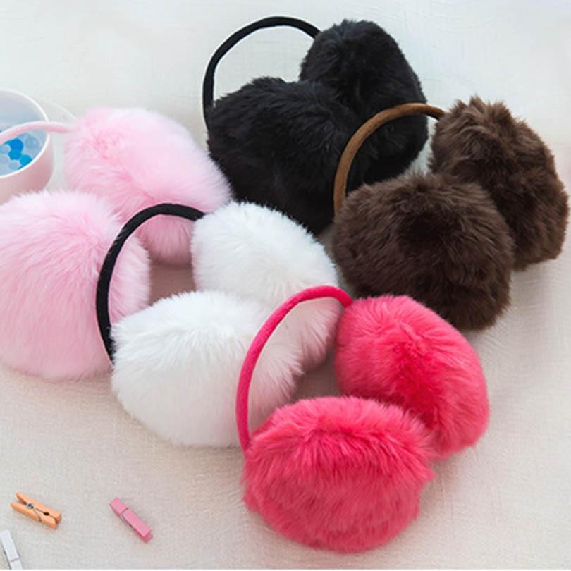 Winter Women Warm Fur Earmuffss