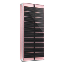 PowerGreen Photo voltaic Charger 10000mAh 5V 2A Photo voltaic Energy Financial institution Exterior Battery Supply for Cellular Cellphone