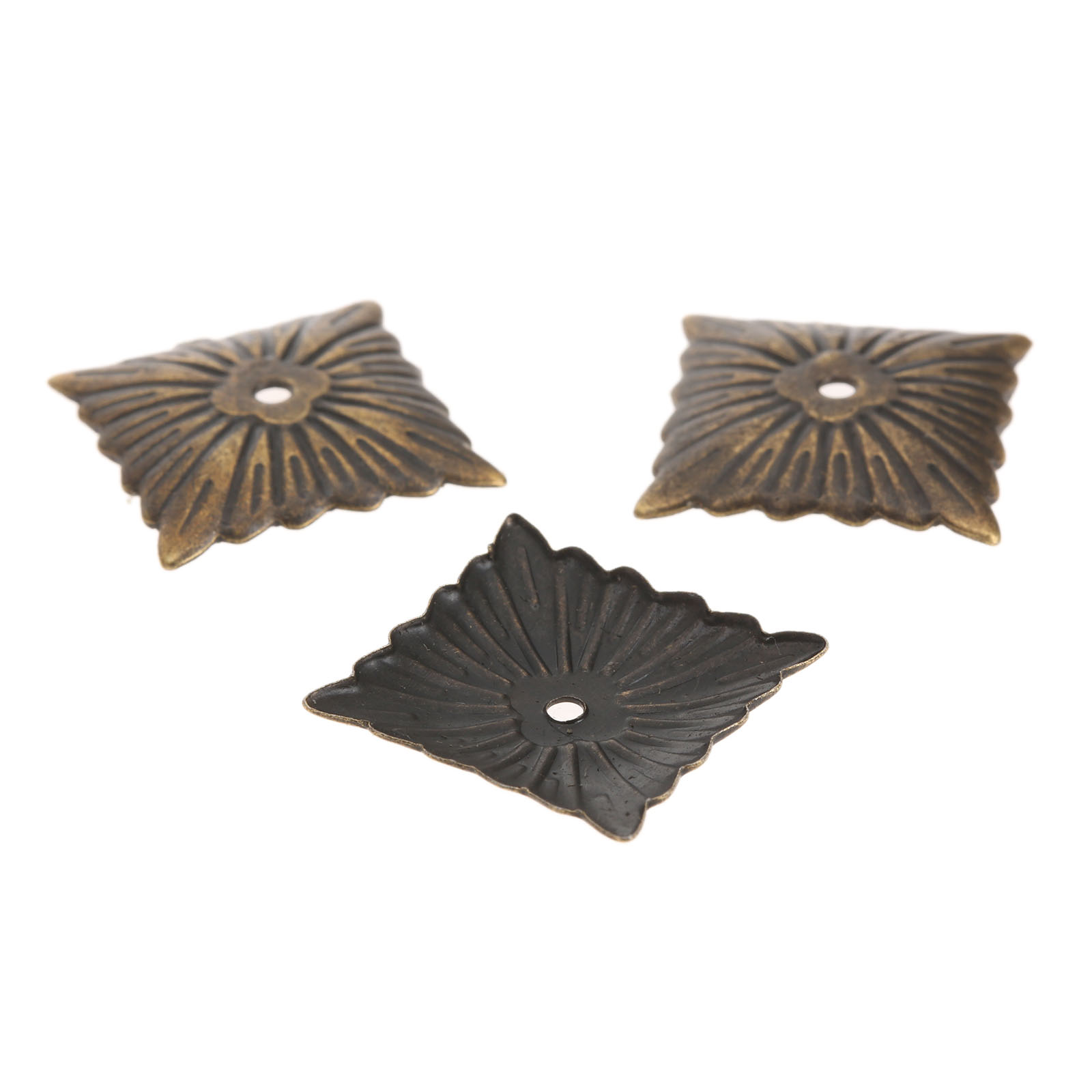 100Pcs 21x21mm Upholstery Nails Antique Bronze Decorative Upholstery Nails Tack Studs Door Sofa Home Decor Furniture Hardware in Nails from Home Improvement