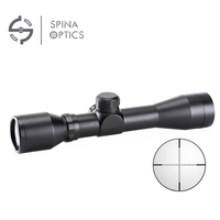 SPINA OPTICS 4X32 Air Rifle Optics Sniper Scope Compact Riflescopes hunting scopes with 21mm/11mm Rail mounts