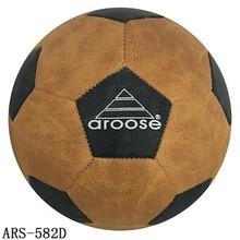 High Quality Soccer Ball Street Soccer Ball Leather football ball size 5 futebole For Hard Groud Super Fibre  ball